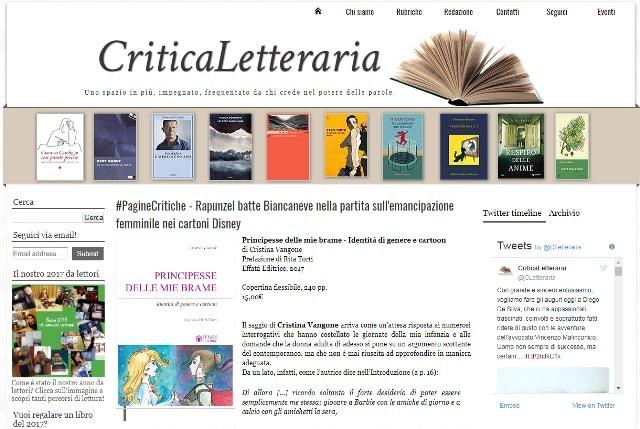 Critica letteraria