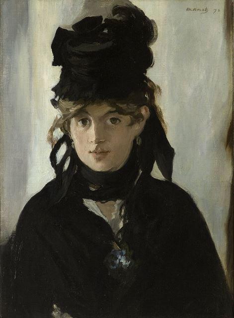 Édouard Manet, Berthe Morisot con un mazzo di violette