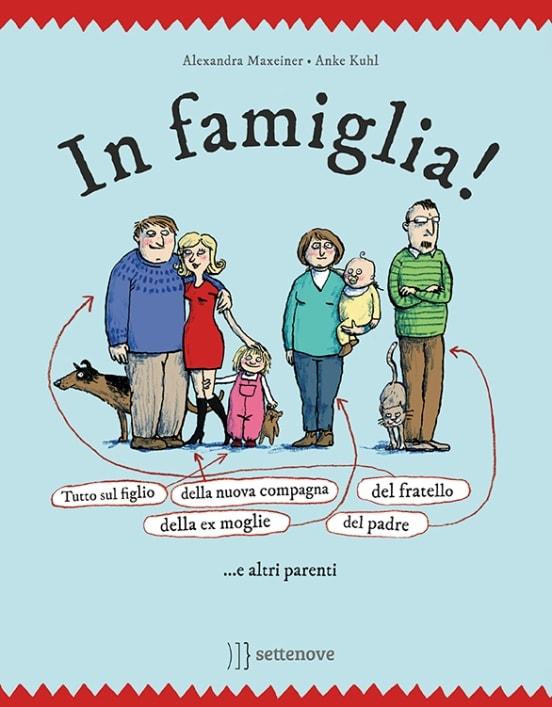 In famiglia! Tutto sul figlio della nuova compagna del fratello della ex-moglie del padre... e altri parenti di Alexandra Maxeiner e Anke Kuhl