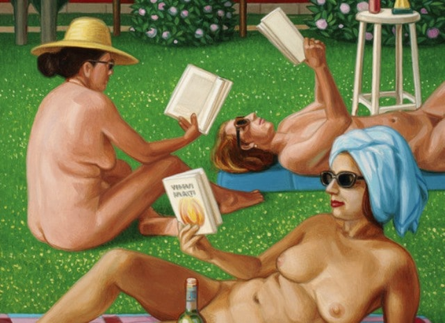 Nel giardino delle scrittrici nude di Piersandro Pallavicini