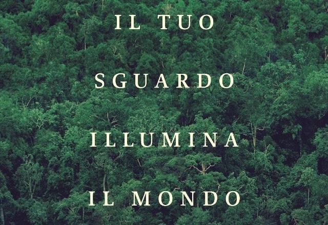 Il tuo sguardo illumina il mondo di Susanna Tamaro